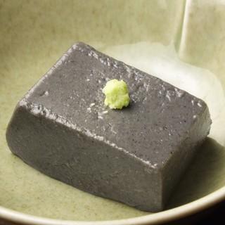 ごまにこだわっている店の、本気の『ごま豆腐』をご賞味あれ!