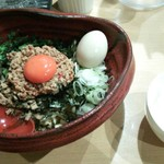 つけ麺 雀 - 国税局ブギー(写真は味玉付)