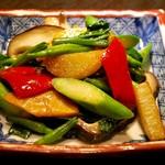 宮の森れんげ堂 - いろいろ季節野菜の炒め