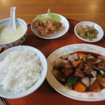 65778521 - 酢豚定食 810円(税込)