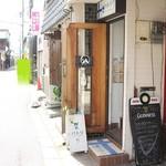 パトリ cafe/market - お店の外観(2017.04)