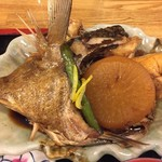 65780862 - 魚のアラと大根の煮物