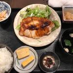 京の茶漬け 中目黒 魚とく - 京都ポークの生姜焼き\¥1000
