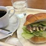 喫茶・レストランブルーポピー - ツナロールサンド