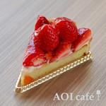 AOI cafe - いちごのタルト