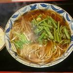 中島屋 - 料理写真:山菜そば(温)