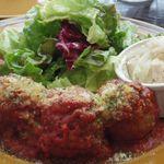 ザ・シティ・ベーカリー - ワンプレートランチ ミートボールのトマト煮込み