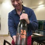 隠れ岩松 - こちらは純米吟醸酒〜♬