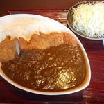 とんかつ政ちゃん - 料理写真:カツカレー(2017年4月)
