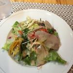 トラットリア ピウ リッコ - 料理写真:前菜サラダ