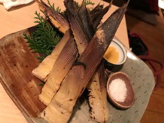 空 - 焼き竹の子700円