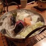 割烹 逆瀬川 川上 - あんこう鍋