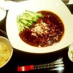 65786947 - ランチの「ジャージャー麺」