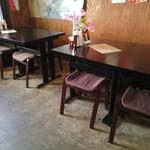 てけ×2 - 1階のテーブル席
