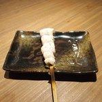 Grill&Wine TOSAKA - 桜のコース 3510円 の笹身の桜梅