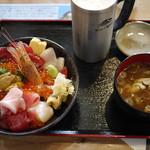 お魚いちば おかせい - 特選女川丼&生ビール~☆