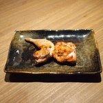Grill&Wine TOSAKA - 桜のコース 3510円 の鶉(うずら)焼き