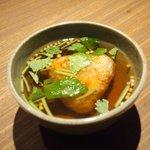 Grill&Wine TOSAKA - 桜のコース 3510円 の香ばしい焼きおに茶漬け