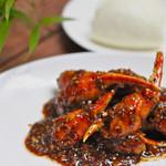 海南鶏飯食堂 - ペッパークラブ。シンガポールを代表する料理の一つです。