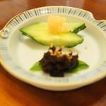 幸喜屋 - カレイの卵と自家製カレイ味噌