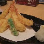 漁師の宴 - 海老フライ