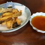 幸喜屋 - 唐揚げと野菜の天ぷら