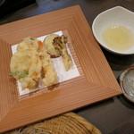 いち遊 - 御膳の天ぷら