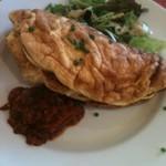 ダニーズレストラン - モンサンミッシェルのふわふわオムレツ