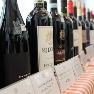個性豊かなイタリアワイン60種グラス売り10種