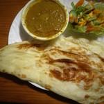 ゴルカリ - 料理写真:海老マサラカレー