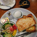 喫茶 茶房菜々や - モーニング トーストセット