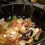 寿司・割烹 福寿司 - 海鮮丼(出汁茶漬け)