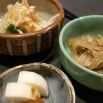 寿司・割烹 福寿司 - 小鉢(ランチ)