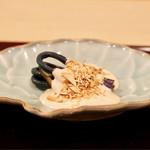安久 - 蕨の味噌和え