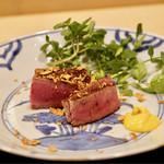 安久 - 料理写真:京都牛