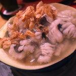 日本料理 正菴 - 揚げ賀茂茄子、鱧、餡かけ