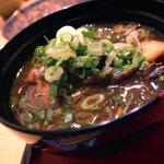 日本料理 正菴 - おこぜの赤出し