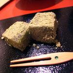 日本料理 正菴 - 抹茶わらび餅