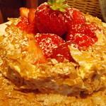 ガッティーノ - いちごのミルフィーユパンケーキ