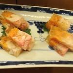 日本料理 銀座 大野 - たらば蟹ゼリー寄せ