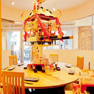 少人数で宴会ご利益ありそうな宴会テーブル!