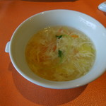 元町 心心相印 - 玉子と豆腐のスープ