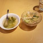 ラサ マレーシア・シンガポール料理 - スープとサラダ
