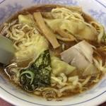 若月 - ワンタン麺