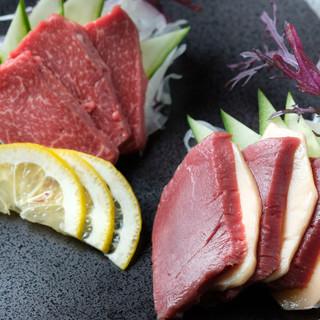 自社仕入れ・加工の桜肉
