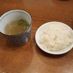 65805329 - 鯛めしとスープ