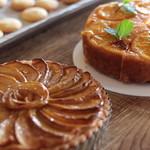 リスタイル プラスカフェ - リンゴのタルト(日替わりケーキ)