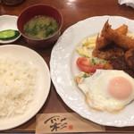 65807592 - ミックスフライ定食¥850