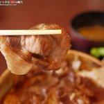 レストランばとう - いのしし丼
