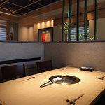さが風土館 博多季楽 - 2階焼肉テーブル席